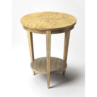 Handmade Butler Serenade Driftwood Round End Table (China)