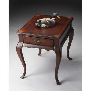 Butler Grace Plantation Brown Varnished Veneer/Wood/MDF End Table