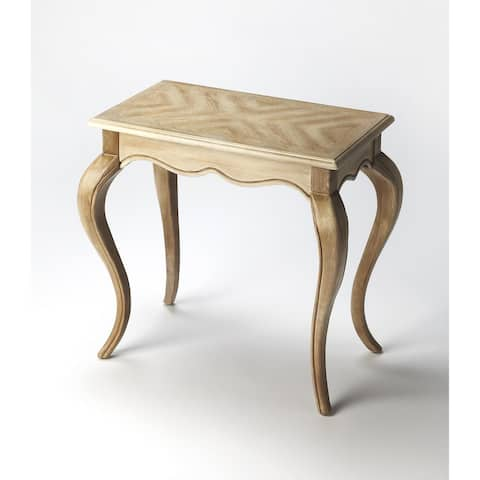 Handmade Butler Daffney Driftwood Wood End Table (China)