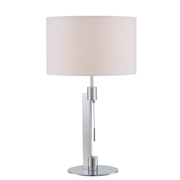 Catriona Silver Table Lamp