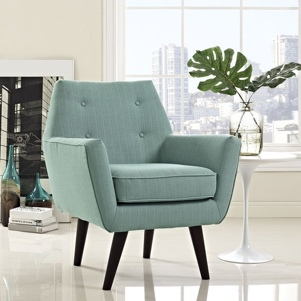 Ordinaire Modway Posit Mid Century Upholstered Armchair