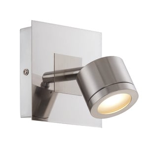 Michi Silvertone Metal LED Wall Sconce