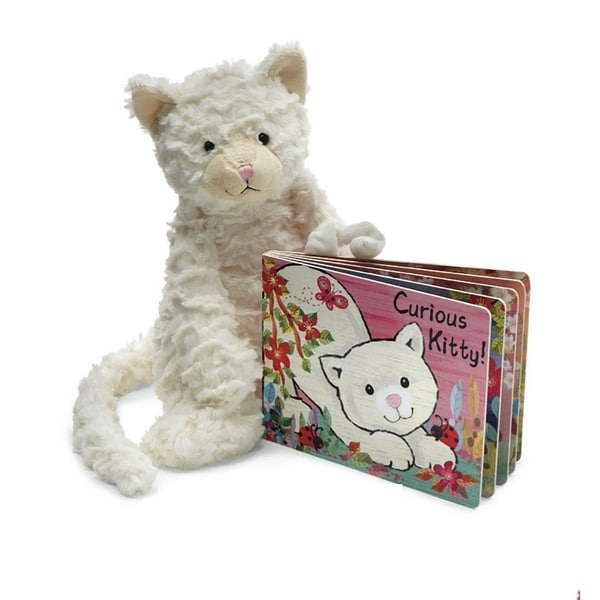 Jelly Cats Curious Kitty Book