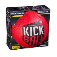 Franklin Sports 10-inch Rubber Kickball Red