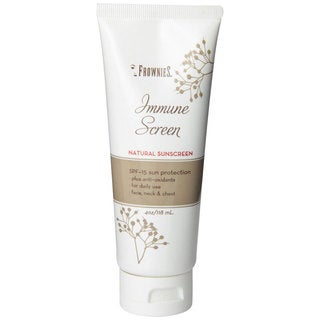 Frownies Immune Screen 4-ounce Sunscreen SPF 15