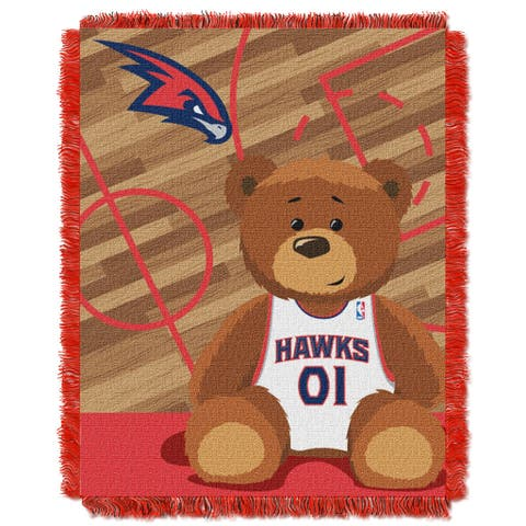 NBA 04401 Hawks Half Court Baby Throw