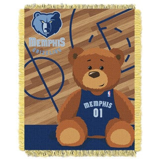 NBA 04401 Grizzles Half Court Baby Throw