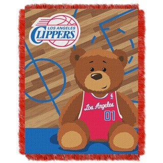 NBA 04401 Clippers Half Court Baby Throw