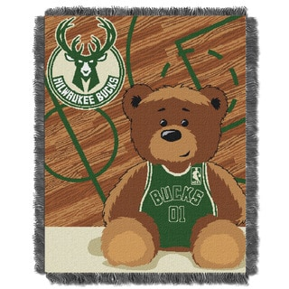 NBA 04401 Bucks Half Court Baby Throw
