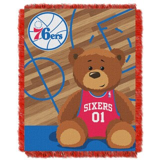 NBA 04401 76ers Half Court Baby Throw