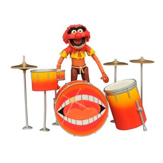 Diamond Select Toys Muppets Series 2 Animal and Drums Action Figure