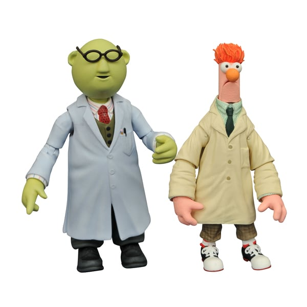 Diamond Select Toys Muppets Select Series 2 Beaker and Bunsen Multicolored Plastic Action Figures