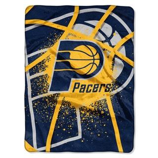 NBA 803 Pacers Shado Play Raschel Throw