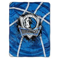 NBA 803 Mavericks Shadow Play Raschel Throw