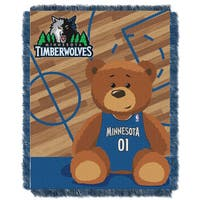 NBA 04401 Timberwolves Half Court Baby Blanket