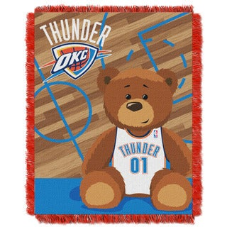 NBA 04401 Thunder Half Court Baby Throw