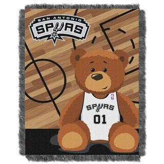 NBA 04401 Spurs Half Court Baby Blanket