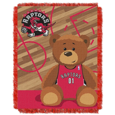 NBA 04401 Raptors Half Court Baby Throw