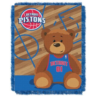 NBA 04401 Pistons Half Court Baby Throw
