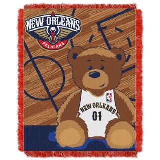 NBA 04401 Pelicans Half Court Baby Throw