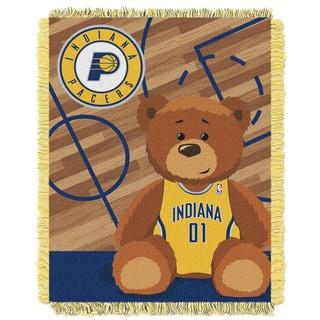 NBA 04401 Pacers Half Court Baby Blanket