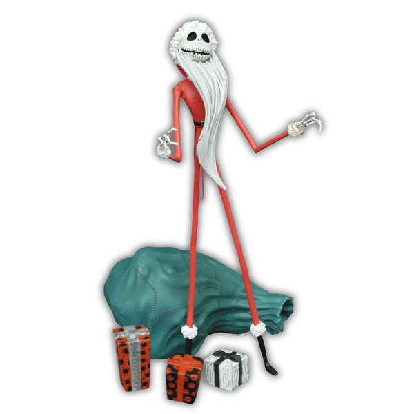 Diamond Select Toys 'Nightmare Before Chirstmas' Select Series 2 Santa Jack Multicolor Plastic Action Figure