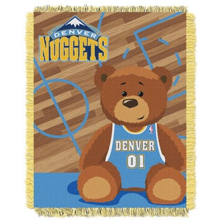 NBA 04401 Nuggets Half Court Baby Throw
