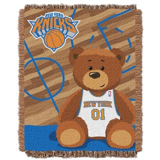 NBA 04401 Knicks Half Court Baby Throw