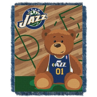 NBA 04401 Jazz Half Court Baby Throw