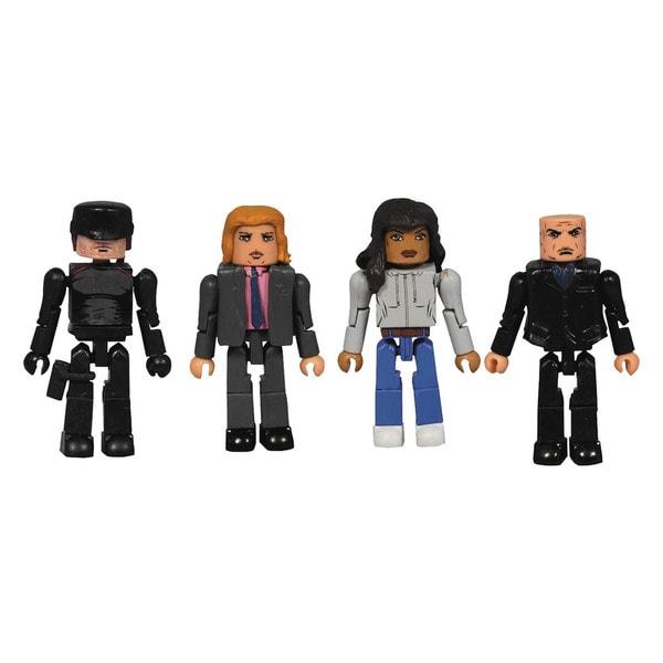 Diamond Select Toys Multi-color Plastic Marvel Netflix Minimates Daredevil Set (Set of 4)