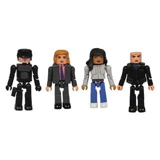Diamond Select Toys Multi-color Plastic Marvel Netflix Minimates Daredevil Set (Set of 4)