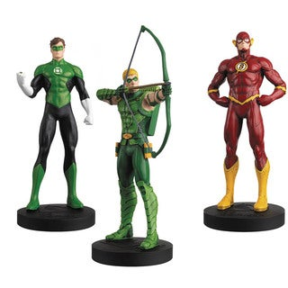 Eaglemoss Publications DC Masterpiece Fig Coll Mag #6 Justice League Set 2