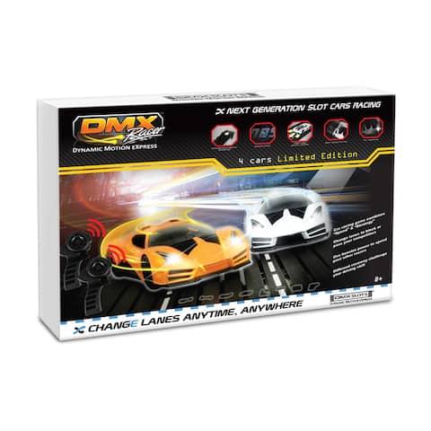 DMX Racer Multicolored Plastic Slot Car Racing Package - Multi