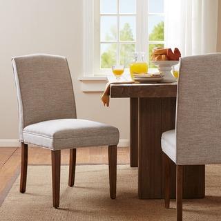 Madison Park Peyton Cream Dining Chair (Set of 2)