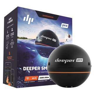 Deeper Smart Sonar PRO FLDP11 Black ABS Echo-Sounder