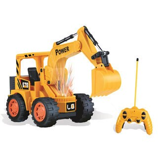 Engineer Super Power Yellow Plastic Remote Control Excavator