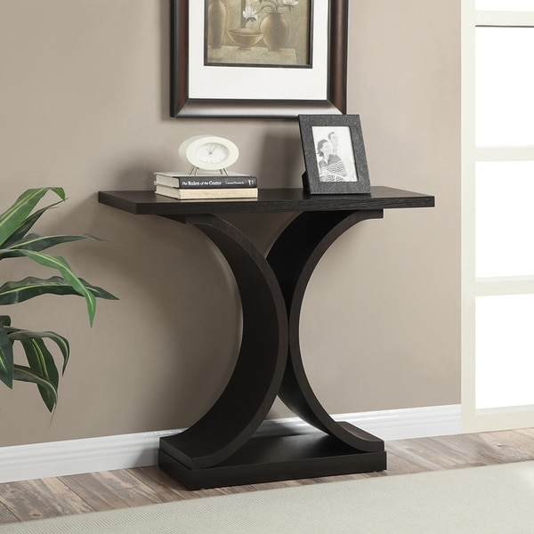 Barkley Console Table: Convenience Concepts Newport Infinity Console Table