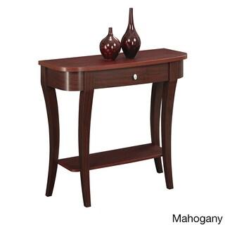 Clay Alder Home Logan Console Table (Option: Mahogany)