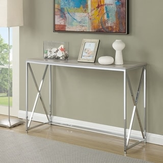 Silver Orchid Nielsen Console Table