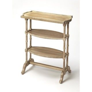 Handmade Butler Anton Grey MDF/Wood Driftwood End Table