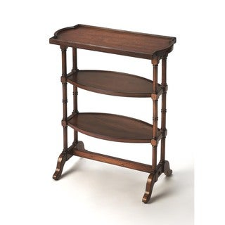 Handmade Butler Anton Brown Finish Wood and MDF End Table (China)