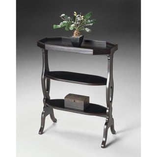 Butler Hadley Black Wood Accent Table