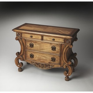 Butler Sonnet Wood Inlaid Console Chest