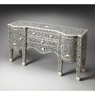 Butler Victoria Black Bone Inlay Buffet