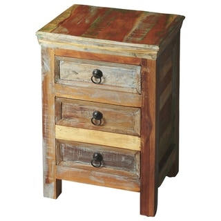 Handmade Butler Arya Reclaimed Wood Rustic Accent Chest (India)