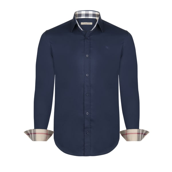 Burberry Men 39 S Dress Shirt Free Shipping Today