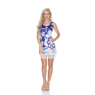 White Mark Women's 'Grecia' Multicolor Tunic Dress (More options available)