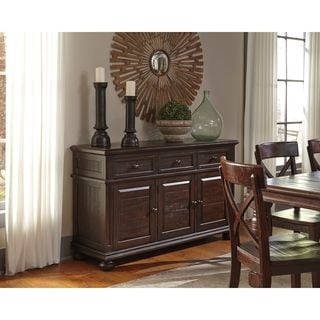 Signature Design by Ashley Gerlane Brown Dining Room Server