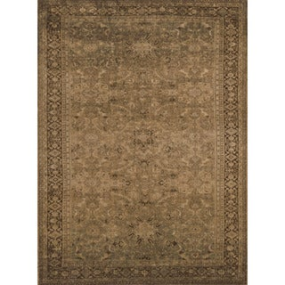 Dorchester Light Gold/ Brown Rug (9'8 x 12'8)