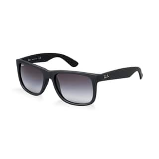 Ray-Ban Justin Classic RB4165 Unisex Black Frame Grey Gradient Lens Sunglasses|https://ak1.ostkcdn.com/images/products/12070506/P18938301.jpg?impolicy=medium